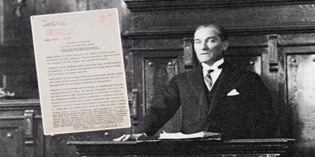 Atatürk'ün 1917 Yılı Raporlarında Filistin