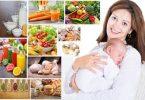 Gebe ve Emzikli Anneler İçin Beslenme