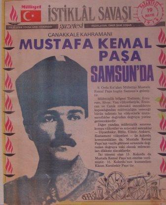 Atatürk'ün 19 Mayıs 1919'dan 29 Ekim 1923'e Kadar Yaptığı Çalışmalar