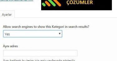 """Gönderilen URL """"noindex"""" İşaretli Hatası ve Kesin Çözümü"""