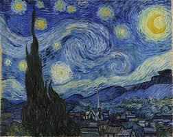 Vincent van Gogh yıldızlı gece tablosu