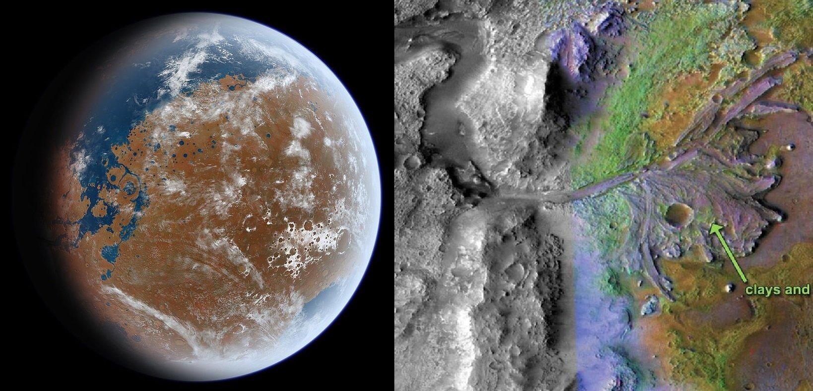 Mars'ta Su Bulunmasının Dünyaya Etkileri