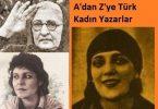 A'dan Z'ye Türk Kadın Yazarlar Listesi