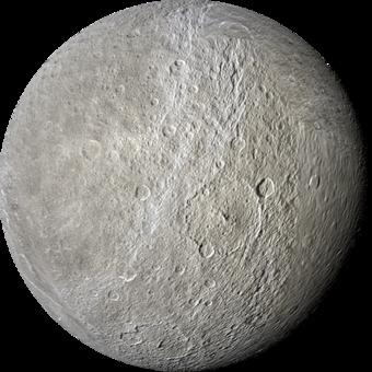Satürn Gezegeni Hakkında Bilgiler 2 – rhea