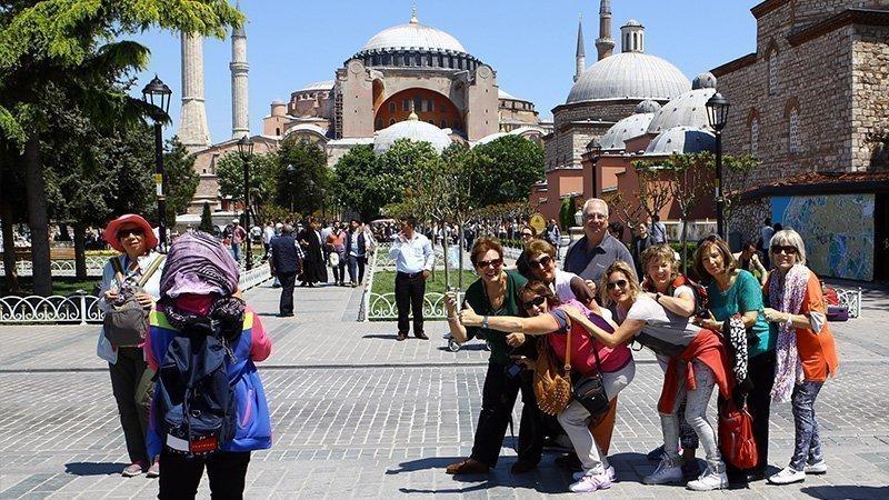 Yıllara göre Türkiye'ye gelen turist sayısı 1 – türkiyeye gelen turistler