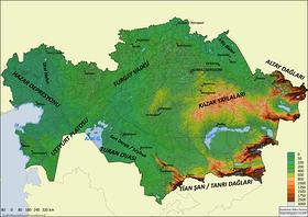 Teşkilatı Mahsusa nedir? 4 – Kazakistan Fiziki
