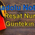 Reşat Nuri Güntekin-Anadolu Notları Sesli Kitap Dinle