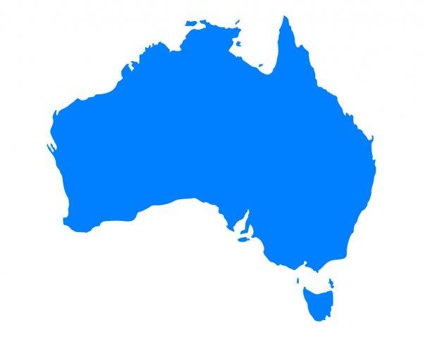 Avusturalya Kıtası'nın Coğrafi Özellikleri 3 – avusturalya harita