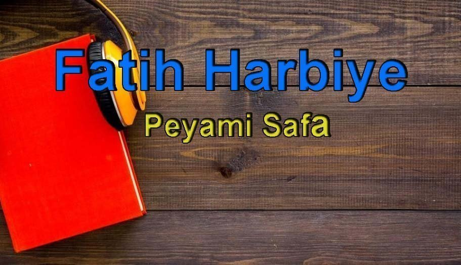 Peyami Safa-Fatih Harbiye Sesli Kitap Dinle 3 – fatih harbiye peyami safa
