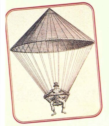 İlk Paraşüt Atlayışını Kim Yaptı?