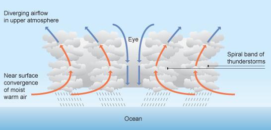 Tropikal Siklon (Kasırga) Nedir? İklim Değişikliğinin Etkisi.