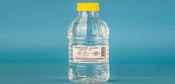 Koronavirüse Karşı Dezenfektan İzopropil Alkol