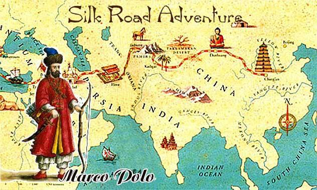 Marco Polo Kimdir? Eserleri Nelerdir? 3 – ipek yolu
