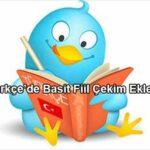 Türkçe'de Basit (Haber,Hal) Fiil Çekim Kipleri