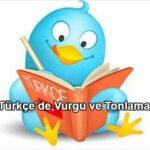Türkçe'de Vurgu ve Tonlama
