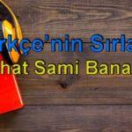 Nihat Sami Banarlı-Türkçe'nin Sırları Sesli Kitap