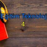Meb Eğitim Teknolojileri 4 Sesli Kitap Dinle