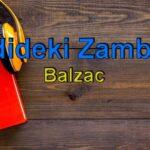 Balzac-Vadideki Zambak Sesli Kitap Dinle