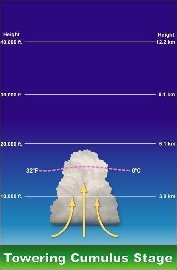 Gökgürültülü Fırtınalar Nasıl Oluşur? İklim Değişikliğinin Etkisi 1 – gökgürültülü fırtına thunderstorm kümülüs evresi