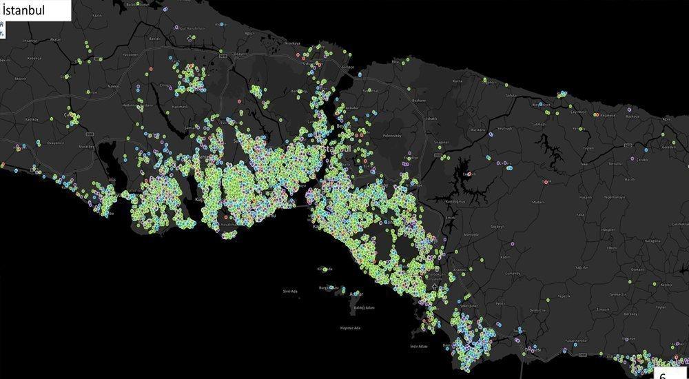 Mert Fırat Kimdir? 6 – istanbul koronavirüs yoğunluk haritası