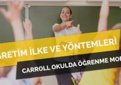 Carroll'un Okulda Öğrenme Modeli Nedir? Nasıl Uygulanır?
