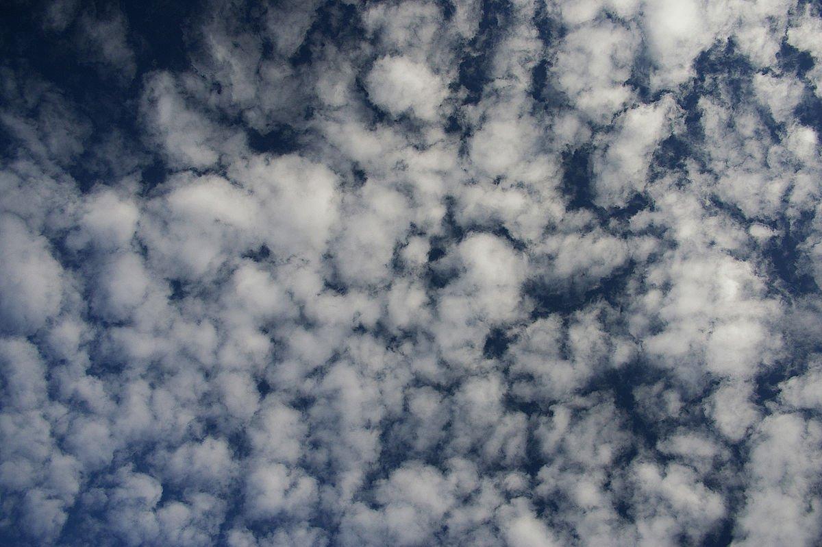 Bulut Nedir? Bulut Türlerinin Detaylı Bilgileri 5 – Altocumulus bulutu