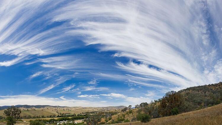 Bulut Nedir? Bulut Türlerinin Detaylı Bilgileri 1 – cirrus bulutu
