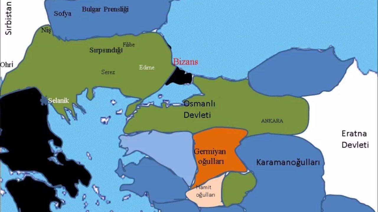 1. Murat Dönemi Olayları ve Savaşları 1 – 1. murat dönemi
