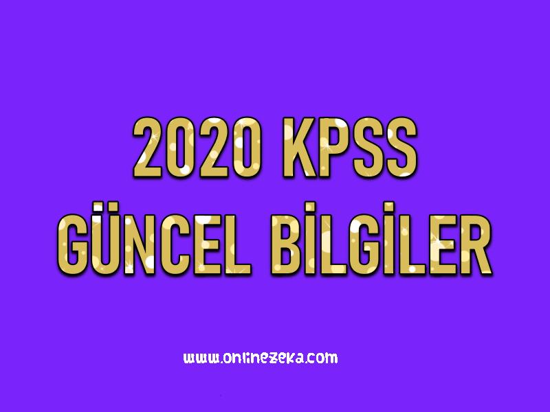 Kpss İçin En Güncel Bilgiler 2020