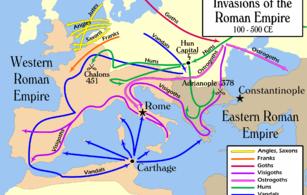 Orta Çağ'da Avrupa'daki Siyasi Durum, Olaylar ve Gelişmeler 10 – kavimler gocu