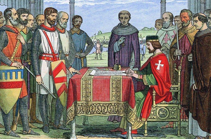 Orta Çağ'da Avrupa'daki Siyasi Durum, Olaylar ve Gelişmeler 3 – magna charta