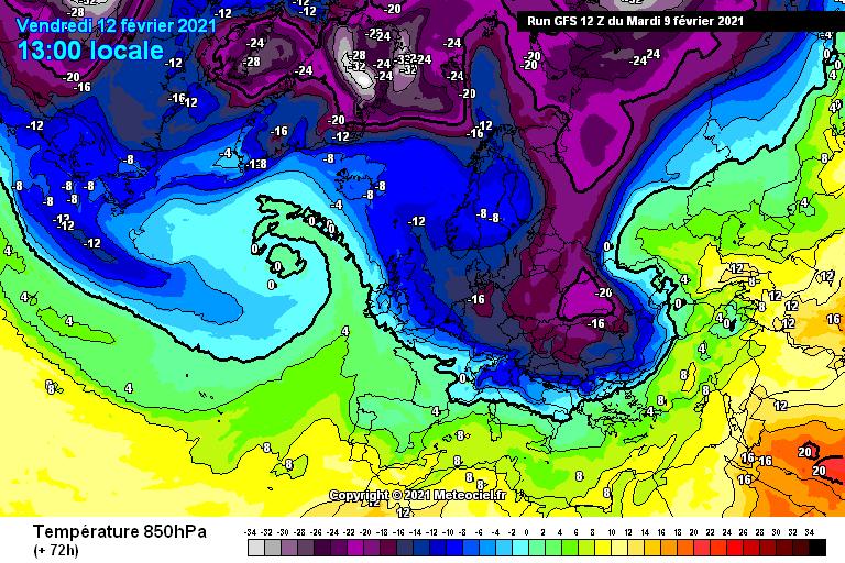 13-22 Şubat Soğuk ve Kar Yağışlı Sibirya Sistemine Bakış 1 – soguk girisi