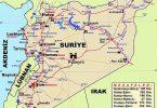 Suriye'nin Coğrafyası, Fiziki ve Ekonomik Yapısı 7 – suriye haritasi